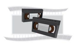 vhs-videoband Fotografering för Bildbyråer