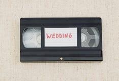 Vhs-videoband Arkivfoton