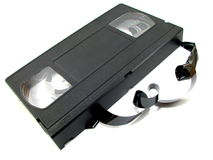 VHS Videotape Stock Photos