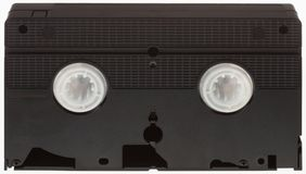 VHS Videotape Cutout Royalty Free Stock Images