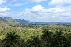 Viñales Valley, Cuba. View to the Viñales Valley, Cuba Stock Photo