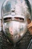 VI节日的战士参加者中世纪 免版税图库摄影