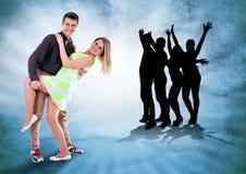 Vi älskar för att dansa hela tid Royaltyfri Fotografi