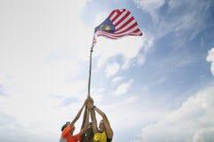 Vi älskar Malaysia Royaltyfri Fotografi