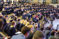 VI διεθνής μεταφορά έκθεσης της Ρωσίας στοκ φωτογραφία