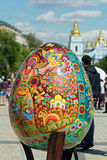 VI festival d'Ukrainien des oeufs de pâques Photographie stock