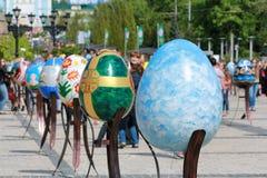 VI festival del ucraniano de los huevos de Pascua Fotografía de archivo libre de regalías