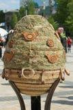 VI festival do ucraniano dos ovos da páscoa Imagem de Stock