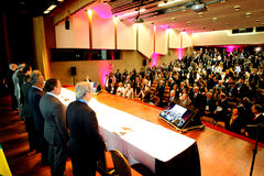 VI International Congress of Labour Law.  Royalty Free Stock Photos