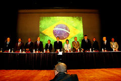 VI International Congress of Labour Law. NEvent held at the Maksoud Plaza in Sao Paulo, Sp, Brazil on the date of 06.10.2016. The event counted with the Stock Images