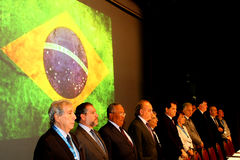 VI International Congress of Labour Law. NEvent held at the Maksoud Plaza in Sao Paulo, Sp, Brazil on the date of 06.10.2016. The event counted with the Royalty Free Stock Photography