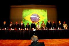 VI International-Kongreß des Arbeitsrechts Stockbilder