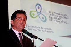 VI International-Kongreß des Arbeitsrechts Lizenzfreies Stockbild