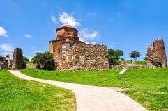 VI secolo antico del monastero di Jvari in Mtskheta, Georgia immagini stock