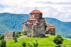 VI secolo antico del monastero di Jvari in Mtskheta, Georgia immagine stock