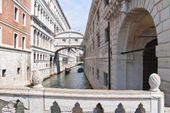Vi svävar på kanalen, Venedig Royaltyfria Foton