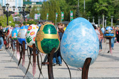 VI Ukrainian festival of Easter eggs Royalty Free Stock Photography