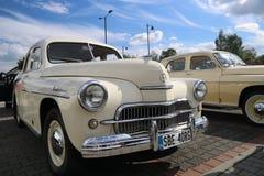 VI verzamelingsauto's Myslowice Polen 2015r Royalty-vrije Stock Fotografie
