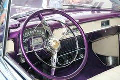 VI verzamelingsauto's Myslowice Polen 2015r Royalty-vrije Stock Foto