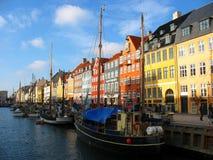 Via 2 di Nyhavn Fotografie Stock