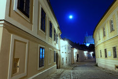 Via abbandonata di Bratislava Immagini Stock Libere da Diritti