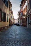 Via accogliente a Heidelberg Fotografia Stock Libera da Diritti