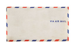 Via Air Mail Vintage Envelope 1941 Airmail Royalty Free Stock Photo