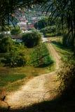 Via al villaggio fotografie stock libere da diritti