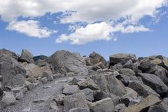 Via alle nubi Fotografia Stock
