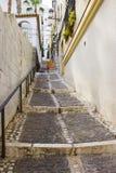 Via in Almunecar, Andalusia, Spagna Fotografie Stock Libere da Diritti