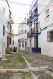 Via in Almunecar, Andalusia, Spagna Fotografia Stock