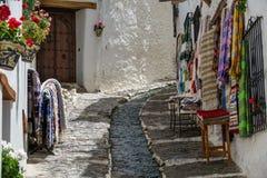 Via in Alpujarra, Granada, Spagna Fotografie Stock