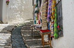 Via in Alpujarra, Granada, Spagna Fotografie Stock Libere da Diritti