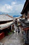 Via antica di Lijiang Fotografia Stock