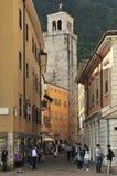 Via Antonio Gazzoletti Royalty Free Stock Images