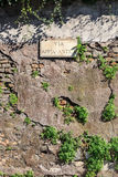 Via Appia Sign Stock Images