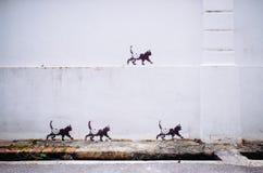 Via Art Mural a Georgetown fotografia stock libera da diritti