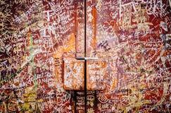 Via Art Mural a Georgetown fotografie stock libere da diritti