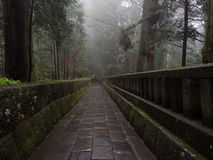 Via atmosferica del tempio Fotografia Stock