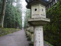 Via atmosferica del tempio Fotografia Stock Libera da Diritti