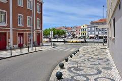 Via a Aveiro, Portogallo Fotografia Stock Libera da Diritti