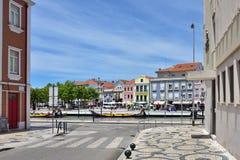 Via a Aveiro, Portogallo Immagine Stock