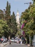 Via ayan del ` Ha-mA che conduce alla chiesa di St John il battista in vecchia città di Gerusalemme, Israele Fotografia Stock Libera da Diritti