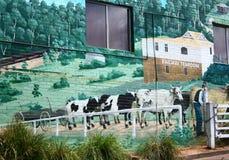 Via Belgrave murale Victoria Fotografia Stock Libera da Diritti