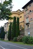 Via a Bergamo Fotografia Stock