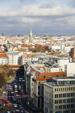 Via a Berlino Immagini Stock Libere da Diritti