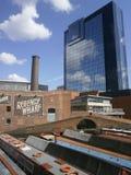 Via Birmingham del gas Fotografia Stock Libera da Diritti