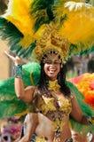 Via brasiliana Carnaval Immagini Stock