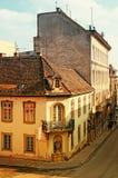 Via Budapest - in Ungheria Fotografia Stock