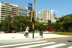 Via a Buenos Aires Fotografie Stock Libere da Diritti